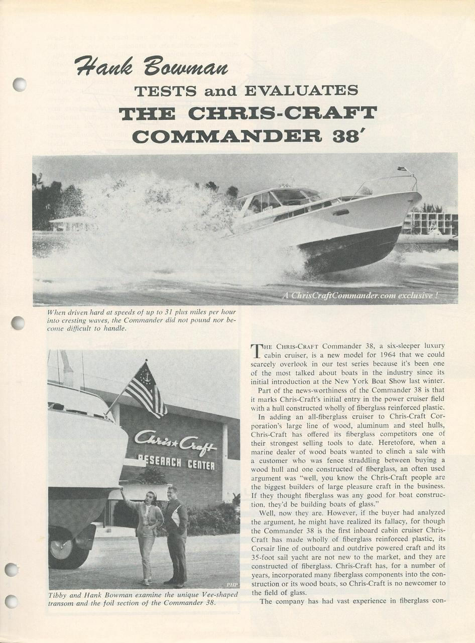 Chris Craft Commander Forum: The 430 (MEL) Chris Craft big